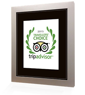 Lonno Lodge is a 2015 Travellers's choice winner